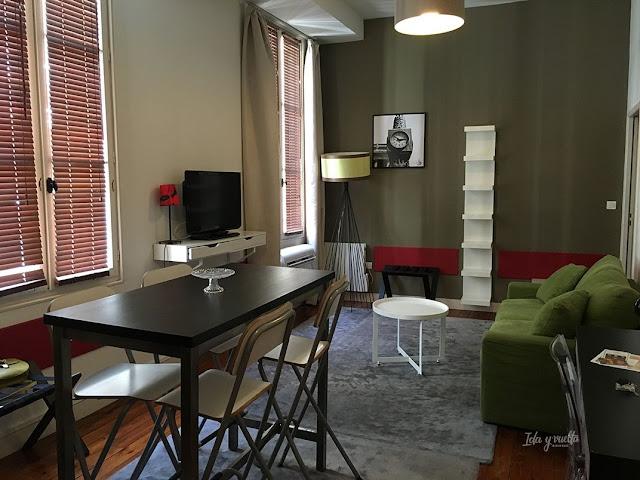 L'Hôtel Particulier salón del apartamento