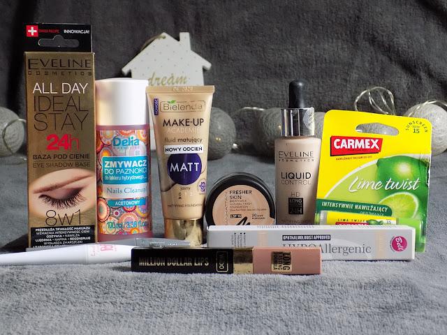 #30 Rossmanowy Haul -49%/-55% na kosmetyki do makijażu.