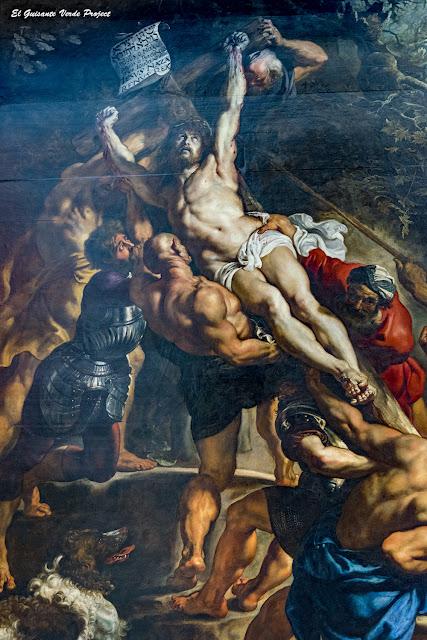 Rubens. Alzamiento de la Cruz, Catedral de Nuestra Señora - Amberes por El Guisante Verde Project