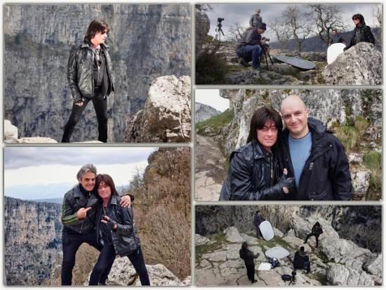 JOE LYNN TURNER: Στο Φαράγγι του Βίκου γυρίζει το νέο του video