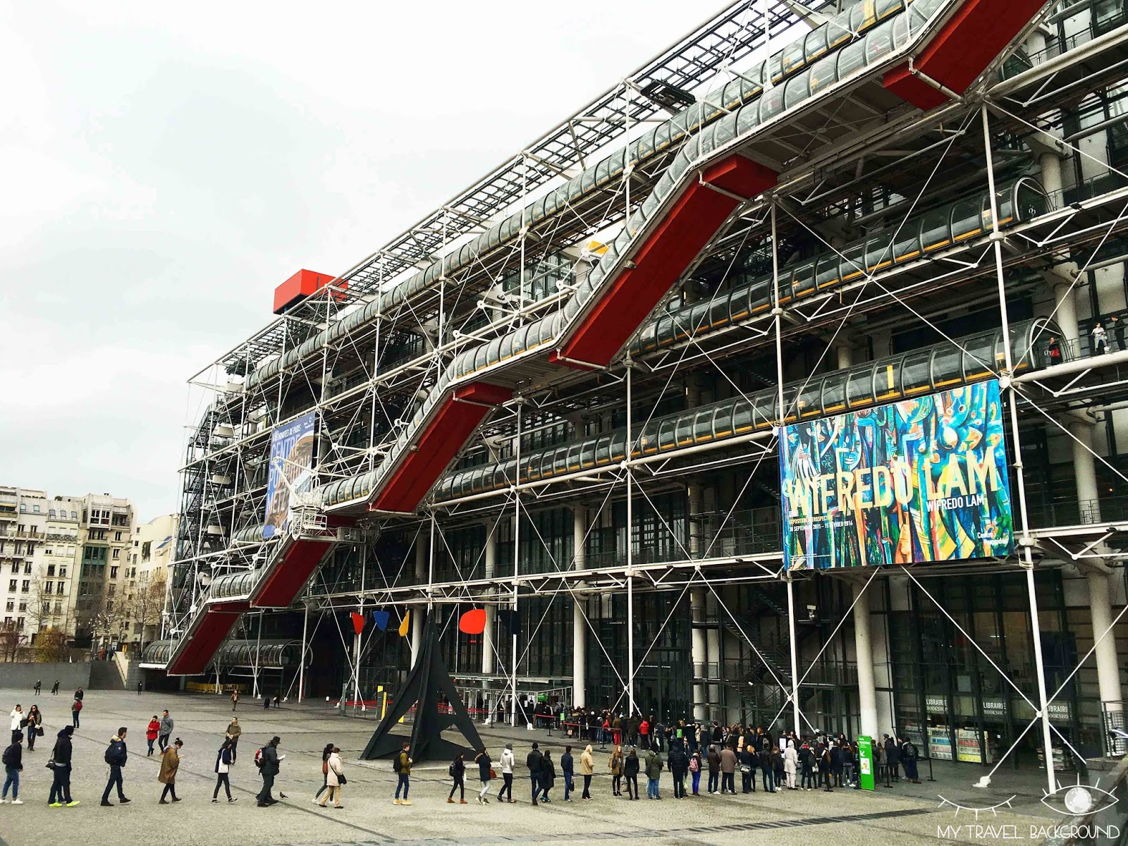 My Travel Background : #ParisPromenade, Le Marais - Centre Pompidou
