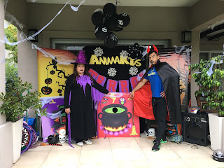 animacion halloween terror