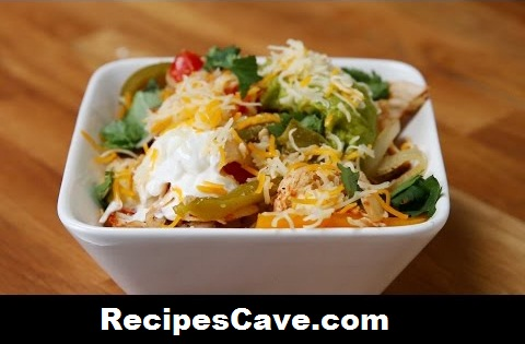 Easy Chicken Fajita Bowls Recipe