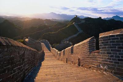 Tembok besar China juga berhasil menyatukan China