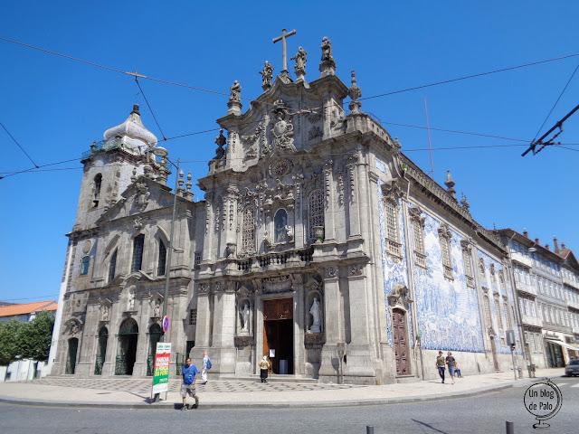 Iglesia de los Carmelitas Oporto, ruta fin de semana