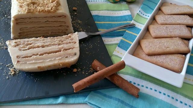 tarta galletas limón leche condensada canela sin horno napolitanas postre pastel merienda fiesta celebración facil rico