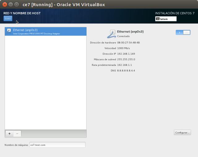 DriveMeca instalando Linux Centos 7 paso a paso