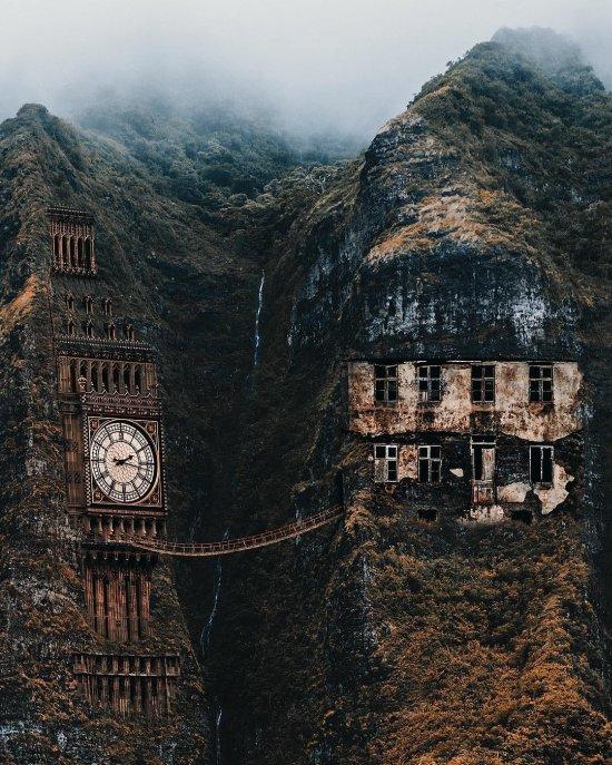 Huseyin Sahin fotografia photoshop surreal foto-manipulações digitais sonhos natureza