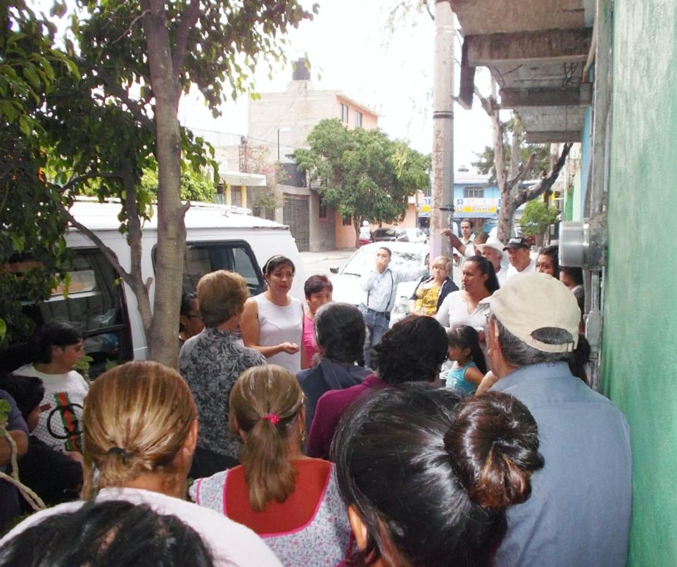 El mexiquense hoy la regidora de ecatepec fernanda de la for Jardin 7 hermanos ecatepec