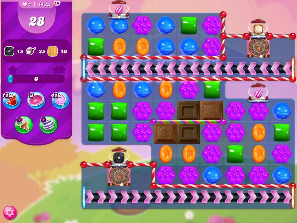 Candy Crush Saga level 4433