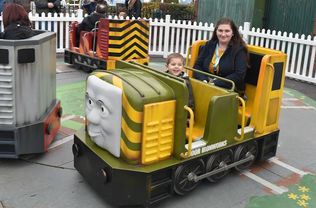 Diesels Locomotive Mayhem at Thomas Land, Drayton Manor