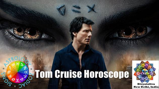 Tom cruise horoscope birth chart, Tom Cruise vedic astrology natal charts, Tom Cruise zodiac sign