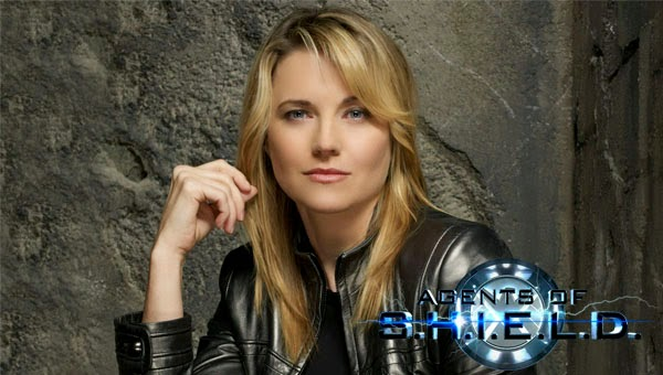 Lucy Lawless in Agents of S.H.I.E.L.D.