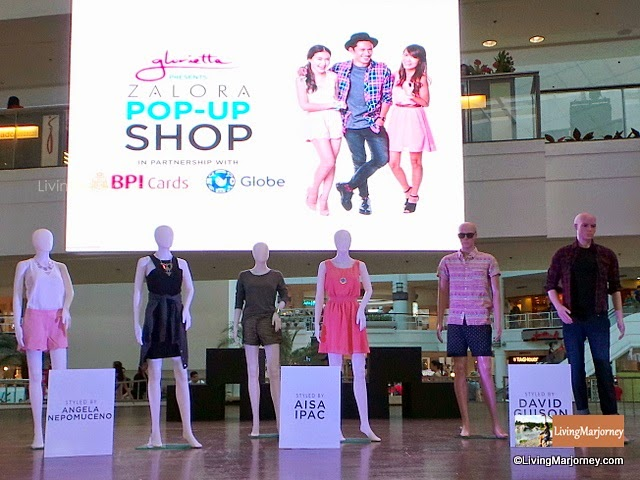 Zalora Pop-Up Shop at Glorietta!