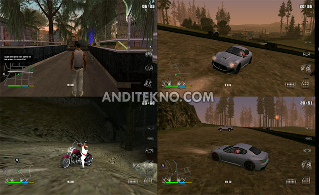 GTA SA Lite Mod GTA V Android APK + Data (300MB)