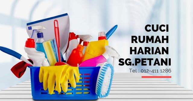 Perkhidmatan Cuci Rumah Harian Kawasan Sungai Petani Kedah