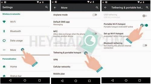 Cara Mengaktifkan dan Membuat Hotspot Di Android
