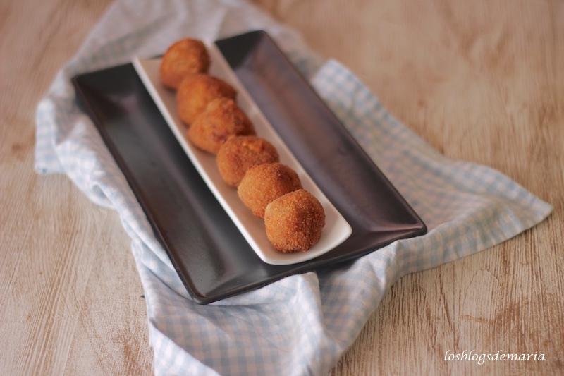 Croquetas de queso de cabra
