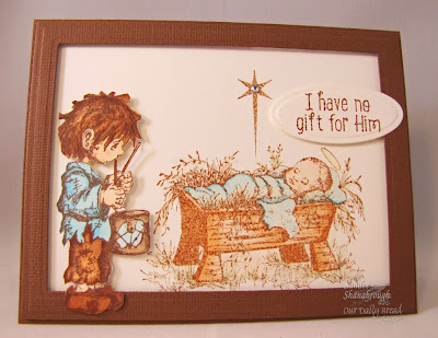 Stamps - Our Daily Bread Designs Little Drummer Boy, The Babe