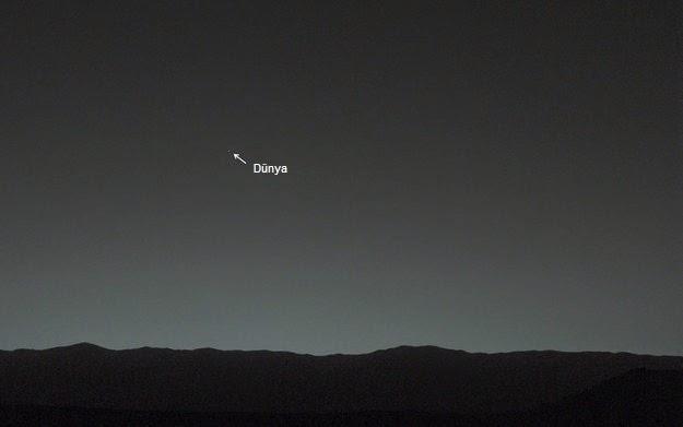 Marstan Dünya Görüntüsü