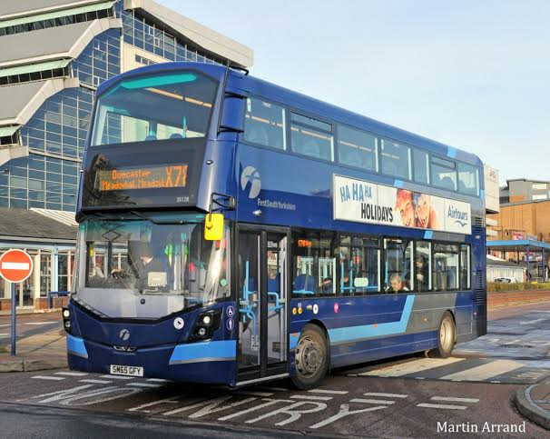 First South Yorkshire Has Welcomed 22 Double Deck Wrightbus Streetdeck Buses On Its X78 Route Between Sheffield Rotherham And Doncaster