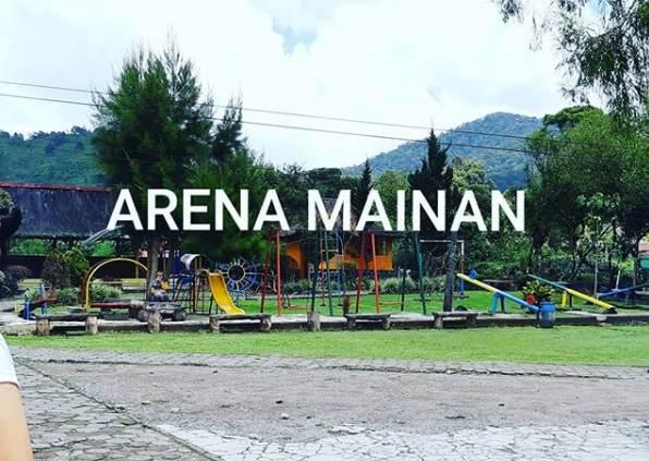 Play Ground di Pemandian Air Panas Ciwalini Ciwidey Bandung
