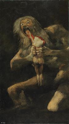 Goya - Saturne dévorant un de ses fils