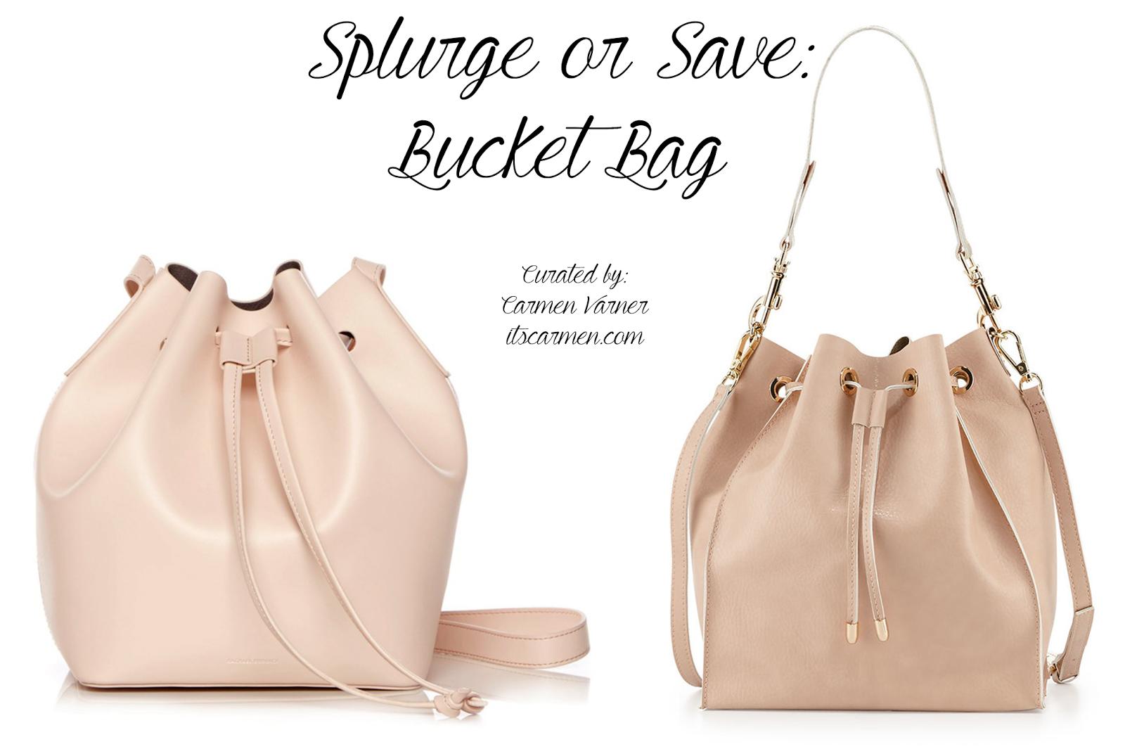 Rachael Ruddick Beach Bucket Bag or Neiman Marcus