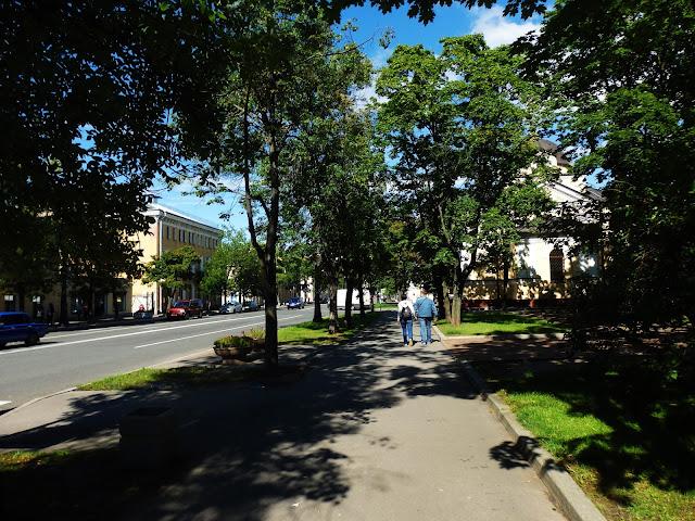 Kronsztad - zielone miasto.
