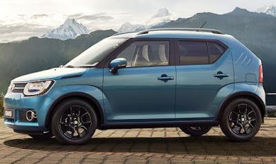 2017 Maruti Ignis Compact SUV Side look