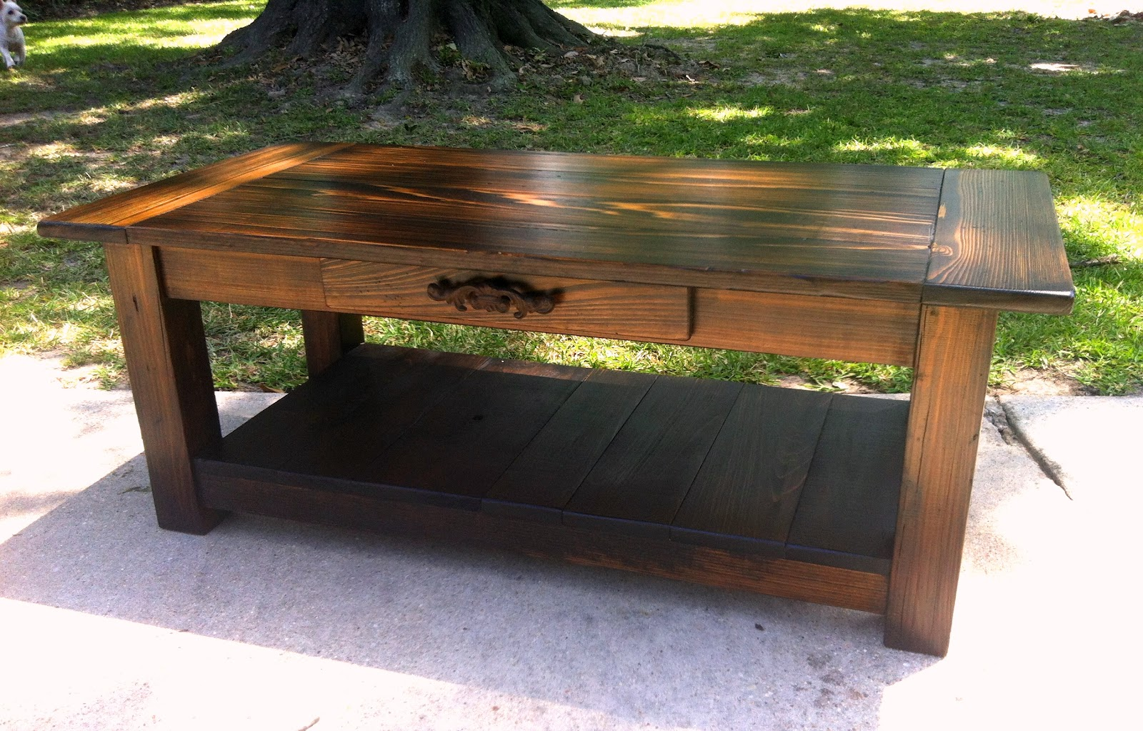 Cypress Picnic Table Executive by DustysTables on Etsy |Artsy Tables Cypress