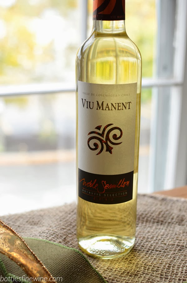 Viu Manent Noble Semillon Thanksgiving Dessert Wine Pairing