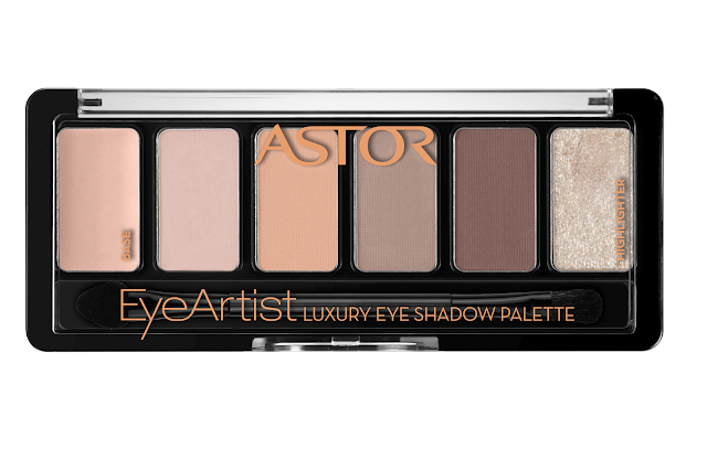 astor eyeartist luxury eyeshadow palette