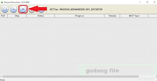 Cara Flash Mito A16 Via Research Download Tool