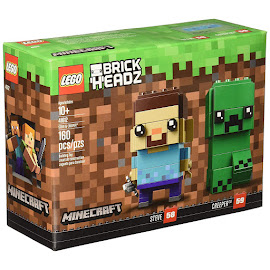 Minecraft Steve? & Creeper Lego Set
