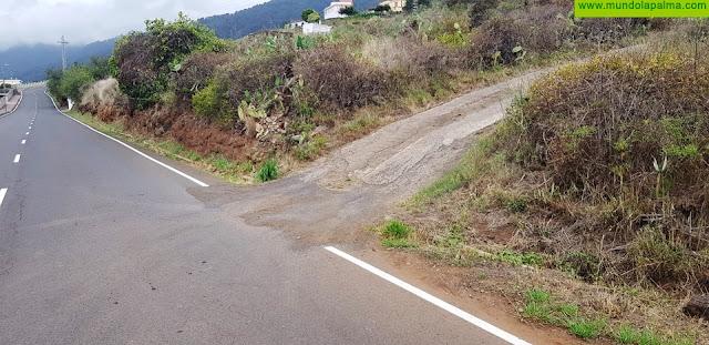 CC en Puntallana reclama mejoras de seguridad vial en las vías locales del municipio