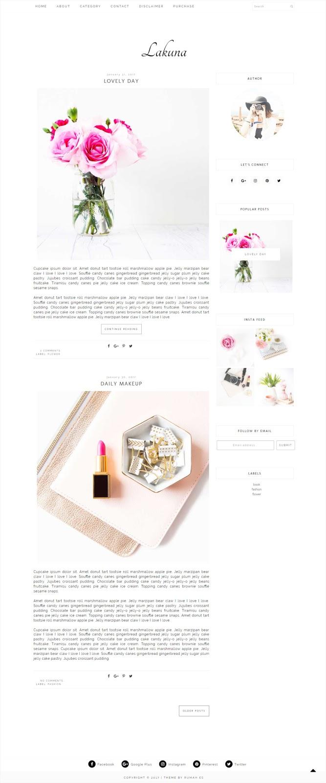 lakuna-blogger-theme
