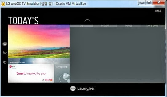 Video: First pictures of LG webOS Smart TV launcher on