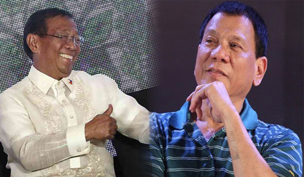 "Duterte answers Binay: ""A criminal is a criminal, rich or poor."""