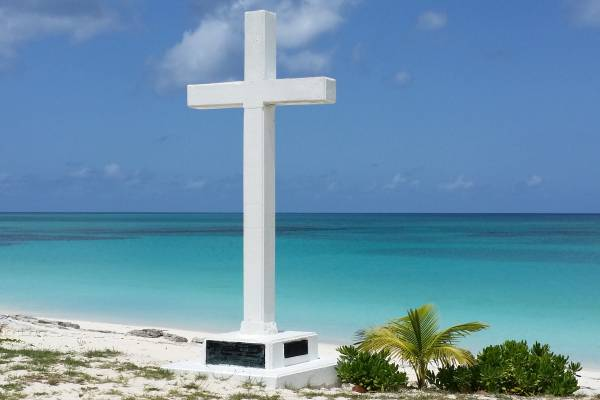 wooden cross, white, monuments