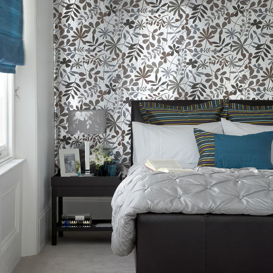 Wallpaper Bedroom Ideas: Comfortable Bedroom Modern Wallpaper Design