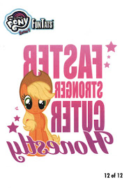 My Little Pony Tattoo Card 12 Series 4 Trading Card