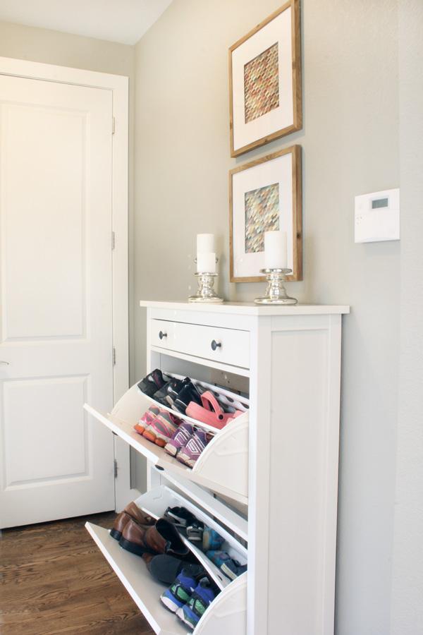 Ikea shoe cabinet - shoe storage
