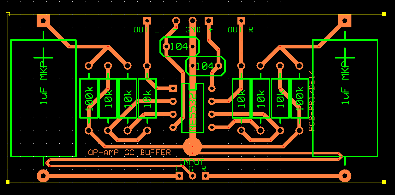 Dukun Elektro: Rangkaian Buffer Sederhana dengan IC NE5532