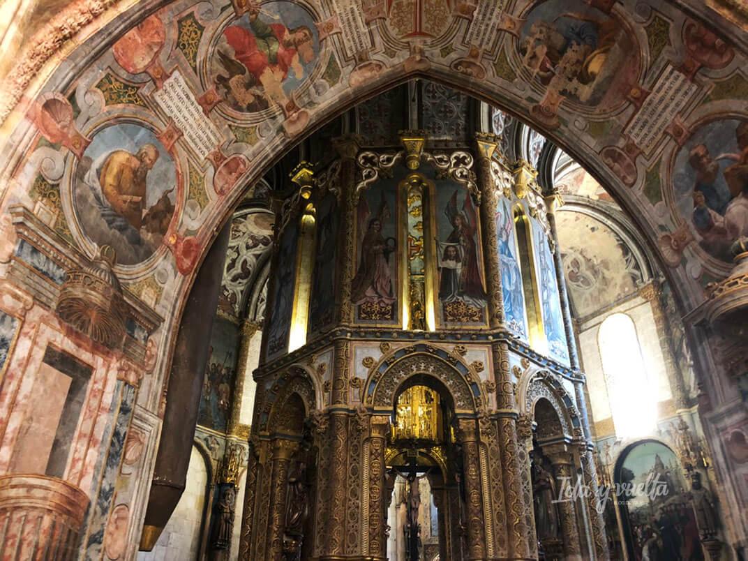 Convento de Cristo de Tomar vista de la Charola