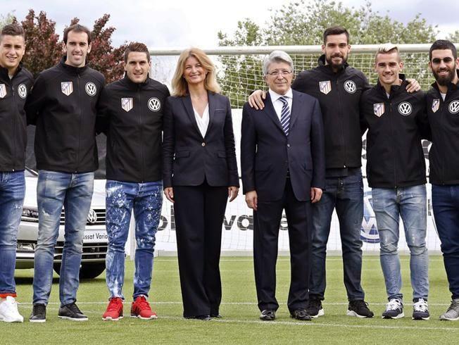 El Atlético de Madrid renueva con Volkswagen