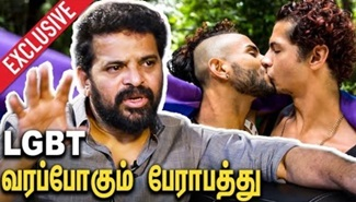 Director Ameer against LGBT Culture in India | Interview