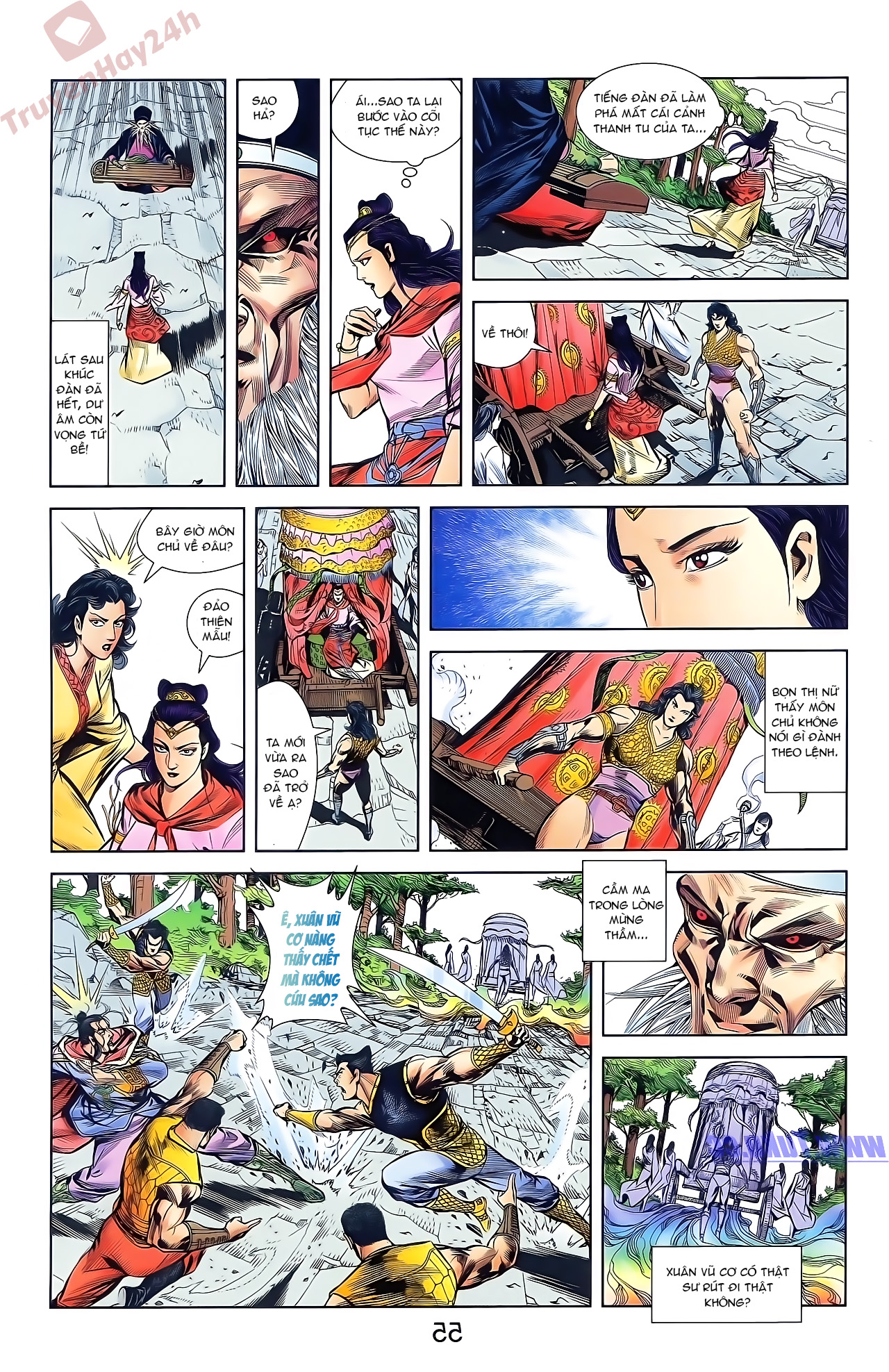Tần Vương Doanh Chính chapter 46 trang 21