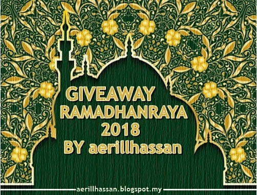 JOM SUPPORT GIVEAWAY RAMADHANRAYA 2018 BY AERILLHASSAN