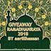 GIVEAWAY RAMADHANRAYA BY AERILLHASSAN